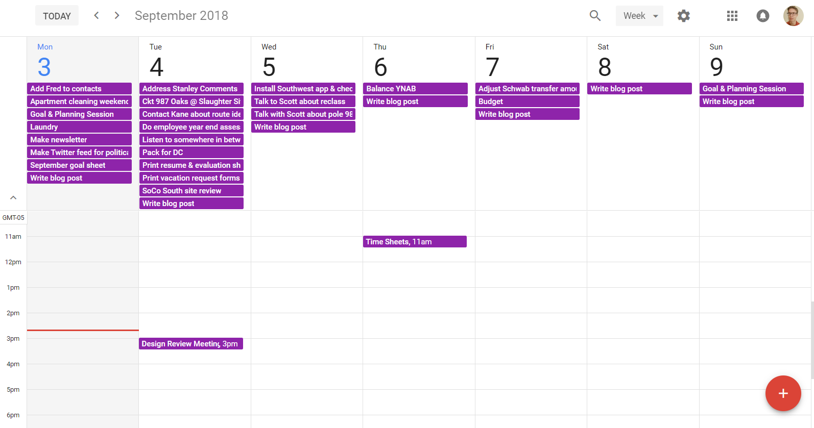 The back and forth communication between Google Calendar and Todoist might be the most clever use of Google Calendar I have seen.